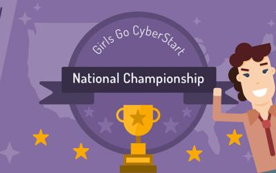 Congrats Girls Go CyberStart CA!