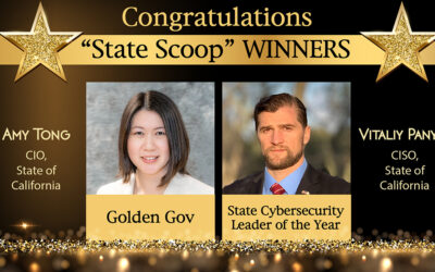 CA State Tech Leaders Honored with State Scoop 50 Awards